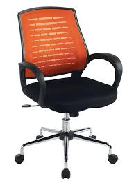 orange desk chair nz mesh office