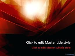 Red Ppt Template Aikidohorice Info
