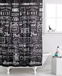 beige and black shower curtain. avanti chalk it up shower curtain beige and black