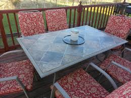 coffee table patio table makeover shattered glass redo my projects