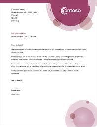 Design Your Own Letterhead Business Letterhead Stationery Simple Design