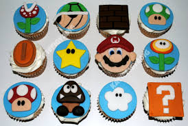 Line two muffin tins with 24 cupcake liners. Super Mario Cupcakes