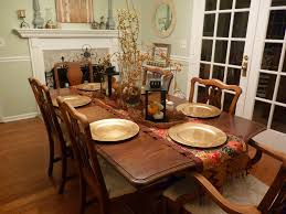 Dining  Rustic Dining Room Decoration Ideas Combine Wooden Chair - Formal dining room table decorating ideas