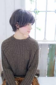 黒髪ショートヘアの人気集面長丸顔前髪ありなしにcheckしよhair