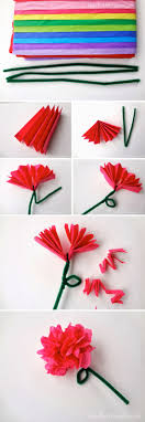 Make Easy Paper Flower 24 High Quality Guidance Easy Flowers Made Out Of Tissue Paper