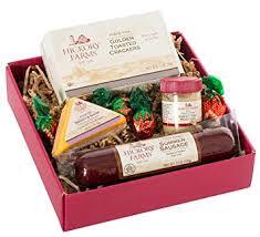 hickory farms original hickory selection with hardwood smoked sausage gift set