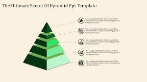 Pyramid Ppt Pyramid Ppt Template With Five Nodes