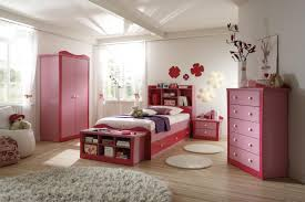 contemporay girls bedroom sets single lovely white fur rugs on glossy fake wooden flooring and pink drawers