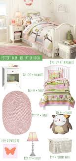 Pottery Barn Girls Bedrooms Pottery Barn Owl Themed Girls Bedroom Inspiration On A Budget