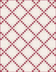 Irish Chain Quilt Pattern