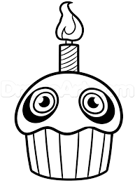 Clipart Cute Fnaf Coloring Pages Collection