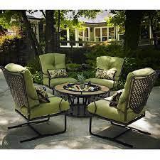 fire pit sets patio furniture cast