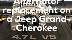how to replace an alternator on a 99 jeep grand cherokee youtube 2001 Jeep Grand Cherokee Alternator Wiring how to replace an alternator on a 99 jeep grand cherokee 2000 jeep grand cherokee alternator wiring