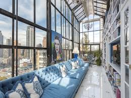 Home office decorating ideas nyc Lighting Captivating Ideas Home Office Decorating Interior Charming Or Other Pre War Penthouse 01 Kindesign Greenandcleanukcom Captivating Ideas Home Office Decorating Interior Charming Or Other