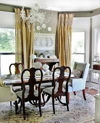 fall decorating ideas for the dining