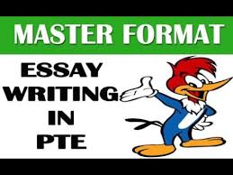 master format essay writing in pte tricks   master format essay writing in pte tricks