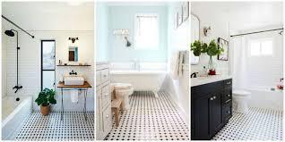 black and white bathroom tiles. Design Classic Black And White Tiled Bathroom Floors Are Making A Huge Comeback In Tile Prepare Tiles H