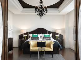 chic bedroom furniture. View In Gallery Luxury Bedroom With Black Furniture Chic T