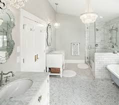 traditional bathroom lighting ideas white free standin. Graceful-Bathroom-Traditional-design-ideas-for-Carrara-Marble- Traditional Bathroom Lighting Ideas White Free Standin G