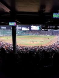 Fenway Park Section Grandstand 21 Row 14 Seat 20 Boston
