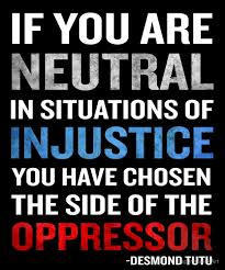 Injustice Quotes Custom Desmond Tutu Quote Neutral Situations For Injustice By