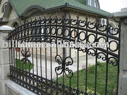 wrought iron fence designs. Unique Designs Hight Quality U0026 Topselling Wrought Iron Fence Design  Buy  FenceIron FenceFence Product On Alibabacom To Designs E
