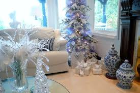 Silver White And Blue Christmas Decorations Blue Christmas Decorations  Christmas Celebrations Modern