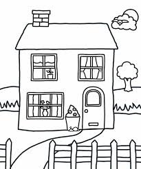 Small Picture School House Open Coloring Coloring Pages Of A House School House