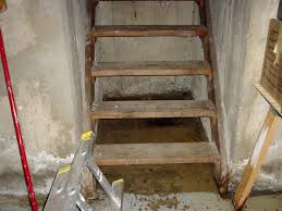 Flooding Stairs Leaking Hatchway Basement Doors Why They Leak