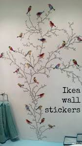 poppy wall decal poppies field decals stickers ikea sticker