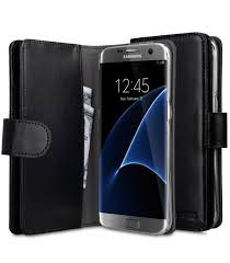 melkco mini pu cases for samsung galaxy s7 edge wallet plus book type black