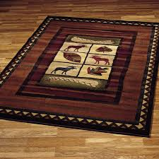 rustic cabin lodge area rugs best of 340 best modern home decor images on images