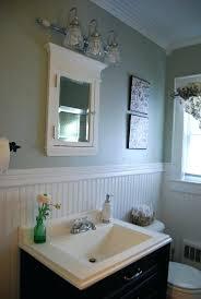 Beadboard Bathroom Vanity Luxury Small Remodel Presenting Wainscoting  Vanities