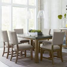 Metal Topped Dining Table Of Also Impressive Design ... Part 27 .
