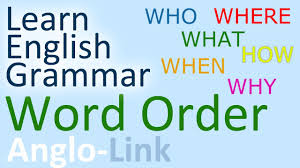 word order sentence structure english grammar lesson part 1 you