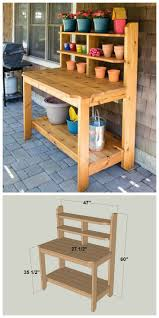 Potting Table 25 Best Potting Bench Plans Ideas On Pinterest Potting Station