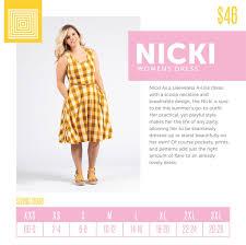 Style Spotlight The Lularoe Nicki Sleeveless Dress