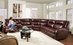 fantastic black sectional leather sofa reclining intended for idea 9 with regard to recliner design 8