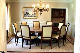 round dining table seats 10 seating large oval for