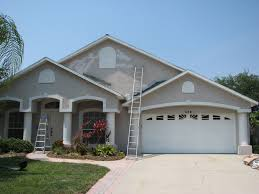 merritt island exterior painting and stucco repair project before after you