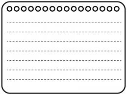白黒のノート風フレーム飾り枠イラスト 無料イラスト かわいいフリー