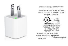 usb power adapter for apple devices identify the right adapter a1385 5w usb power adapter for iphone ipad mini