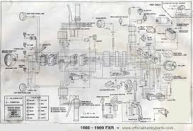 harley davidson wiring diagrams and schematics 1986 89 fxr