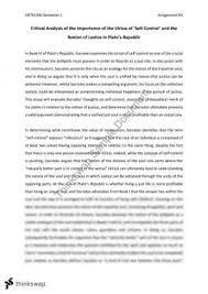major essay more s utopia and plato s republic pol  arts1360 essay on plato s republic