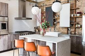 diy industrial kitchen inspires your kitchen decoration and renovation the builder used reclaimed wood a