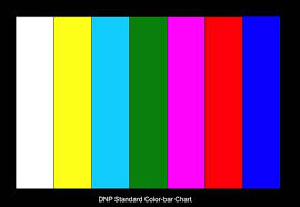 3nh 7 Colors Standard Color Bar Chart For Color Camera