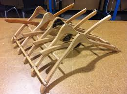 picture of wood hanger dish drying rack