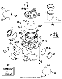 2016 ktm 300 xc w cylinder cylinder head parts best oem cylinder cylinder head parts diagram for 2016 300 xc w motorcycles