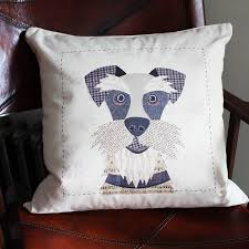 Schnauzer Personalised Dog Cushion Cover