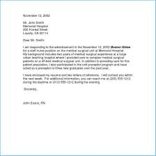 Nurse Cover Letters Best New Graduate Nurse Cover Letter To Make Resume Cover